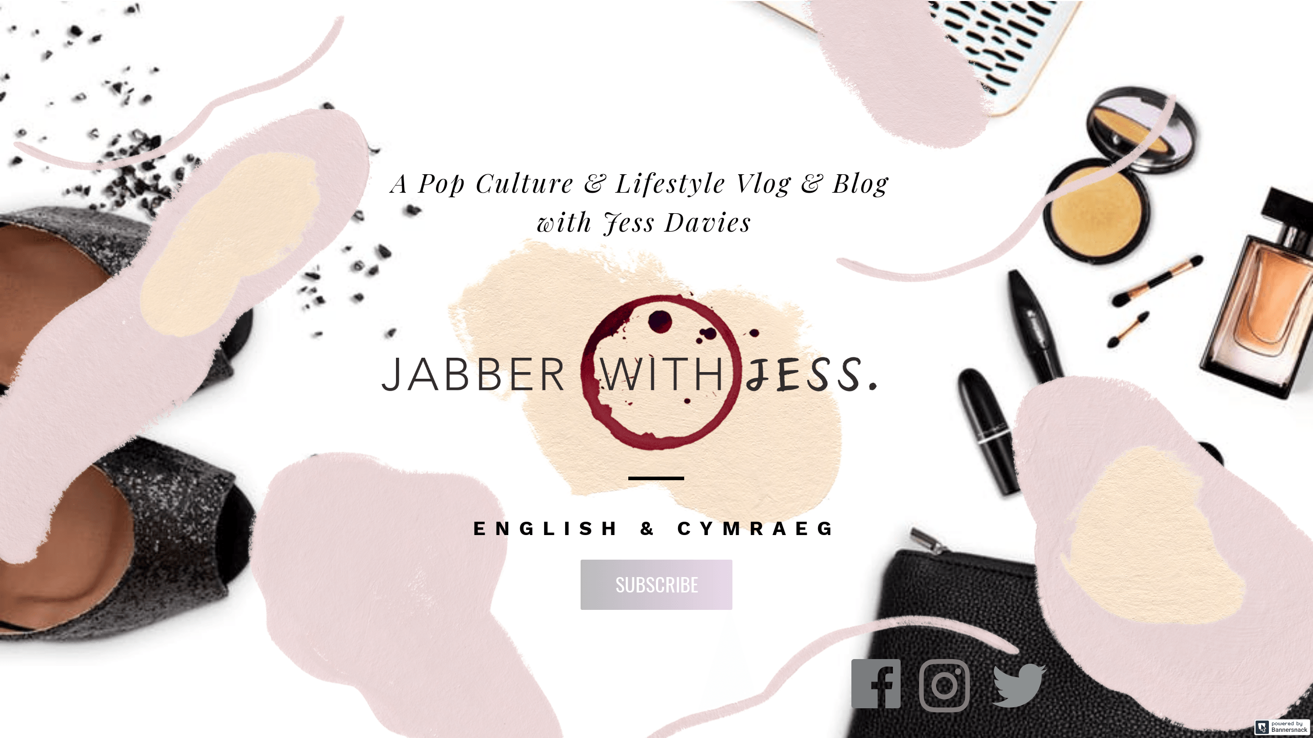 Jabber With Jess : A pop culture and lifestyle vlog & blog with Jess Davies