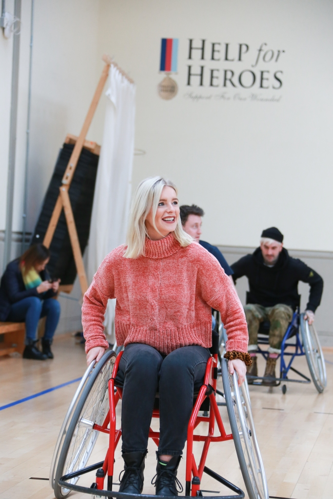 Wheelchair Basketball at Tedworth House