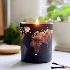 The Perfect Gift for your Girlfriend this Christmas. Personalised Candle of your special place