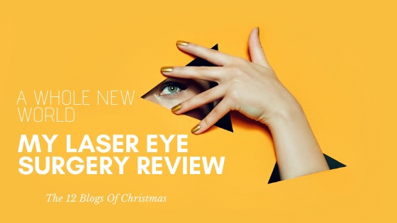 Laser eye surgery: a whole new world.